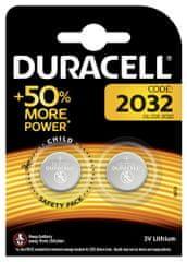 Duracell Lithiová baterie 2032 3V, balení po 2 ks (DL2032/CR2032) 10PP040009