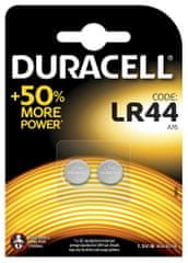 Duracell Alkalická baterie LR44 1,5V, balení po 2 ks (76A / A76 / V13GA) 10PP040020