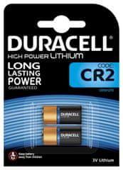 Duracell Lithiová baterie CR2 3V, balení po 2 ks (CR15H270) 10PP060002