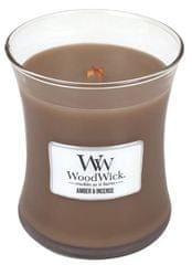 Woodwick Illatgyertya Ámbra és tömjén 275 g