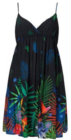 Desigual dámské šaty Vest Sia S čierna  6e94cf6156c