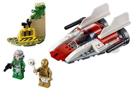 LEGO klocki Star Wars 75247 Walka buntownicza A-Wing
