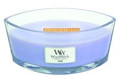 Woodwick dišeča sveča lila, 453,6 g