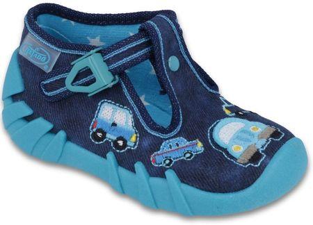 Befado cipele za dječake s automobilom, 25, plave