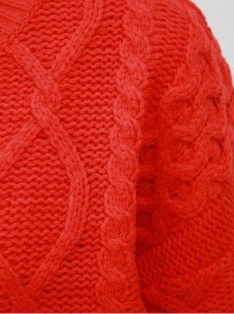d00b2cd2c0b TALLY WEiJL červený svetr s dlouhým rukávem M - Diskuze