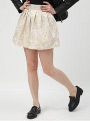 TALLY WEiJL krémová květovaná sukně