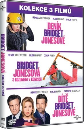3x Bridget Jonesová (3DVD)   - DVD