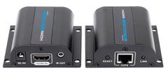 PremiumCord HDMI extender na 60 m přes jeden kabel Cat6/Cat6a/Cat7 khext60