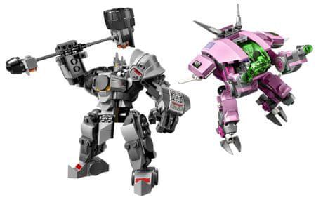 LEGO Overwatch 75973 D.Va i Reinhardt