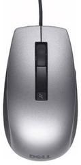 DELL šestitlačítková laserová myš, drátová, černostříbrná (570-11349)