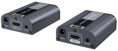 PremiumCord 4K×2K@60 Hz HDMI 2.0 extender, 60 m, jeden przewód Cat6/6a/7 khext60-3