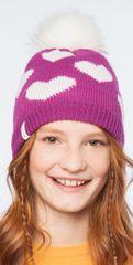 Brekka czapka dziewczęca Lolly Eco Pon