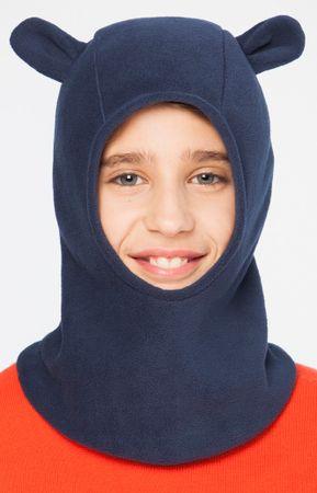 Brekka fantovska kapa z ušesi Fleece Lotar Ears, 52, modra