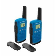 Motorola radijska postaja Walkie Talkie T42, modra