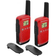 Motorola radijska postaja Walkie Talkie T42, rdeča
