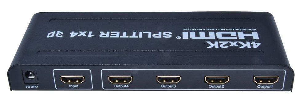 PremiumCord khsplit4 HDMI splitter 1-4 Port