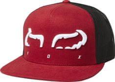 FOX pánska červená trucker šiltovka Strap Snapback Hat