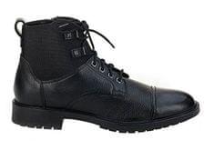 Geox Pánské kotníkové boty Kapsian Ebony U743PA-00023-C6027