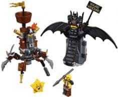 LEGO Movie 70836 Batman in Kovovous sta pripravljena na boj