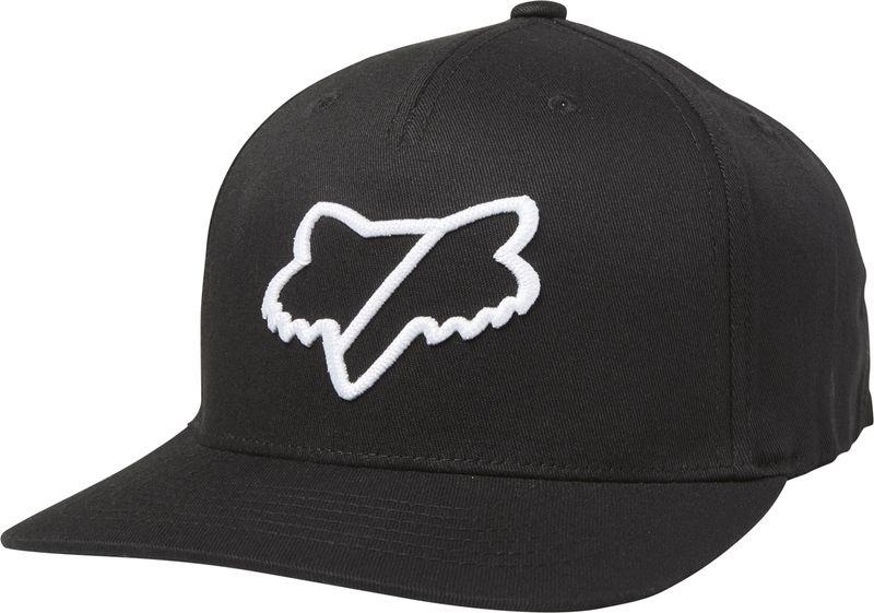 FOX pánská černá snapback kšiltovka Slash Snapback Hat