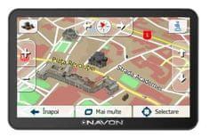 Navon N670+ navigáció