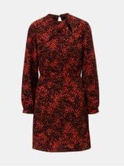 4c2858a3d5b Dorothy Perkins černo-červené šaty s leopardím vzorem