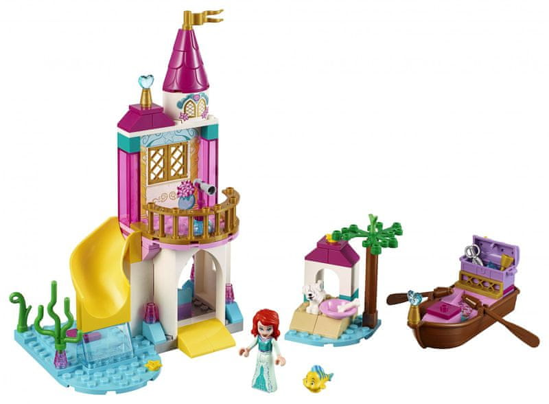 LEGO Disney Princess 41160 Ariel a její hrad u moře