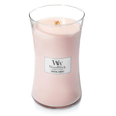 Woodwick dišeča sveča Sončni zahod na obali, 609,5 g