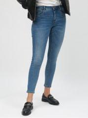 ONLY modré zkrácené regular skinny džíny