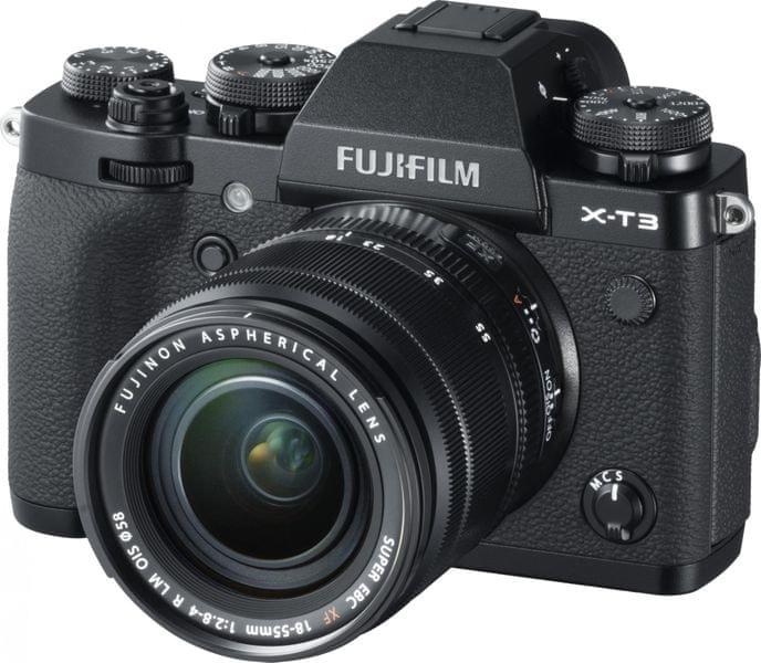 FujiFilm X-T3 + XF 18-55 Black