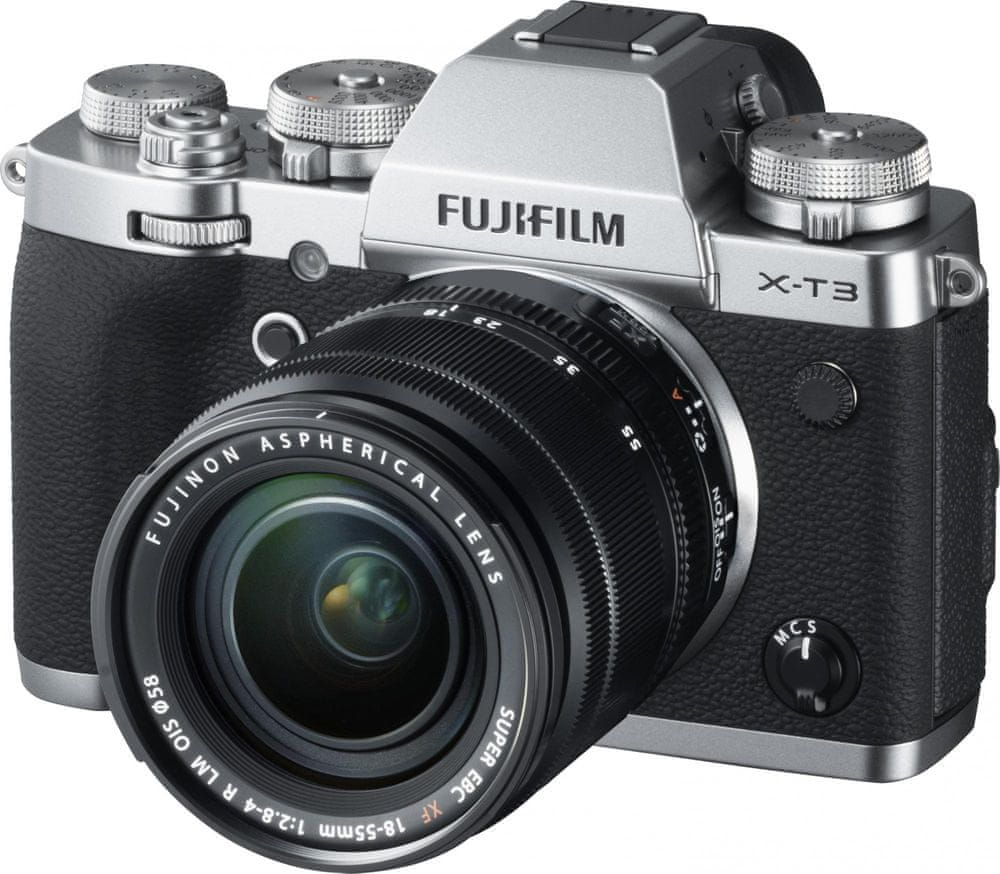 FujiFilm X-T3 + XF 18-55 Silver
