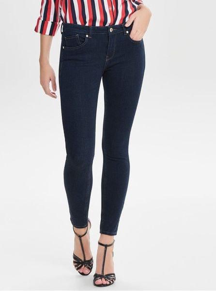 ONLY tmavě modré skinny fit džíny Carmen M