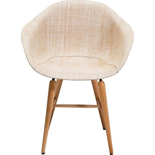 KARE Židle s opěrkou Forum Wood Natural