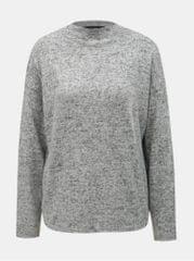 Vero Moda světle šedý žíhaný volný svetr Mai Royanna