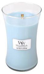 Woodwick świeca zapachowa Sea Salt and Cotton 609,5 g