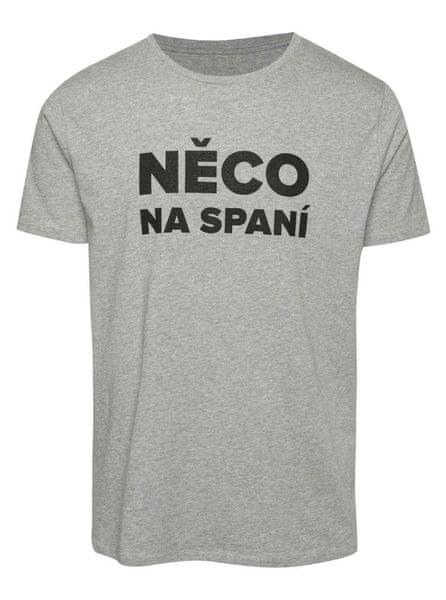 ZOOT Original šedé pánské tričko ZOOT Originál Něco na spaní XXL 3cb4a9ca67