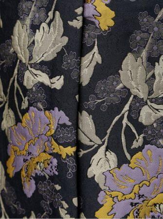 e40556f9553e Vero Moda tmavě modrá květovaná rovná sukně Freya XL