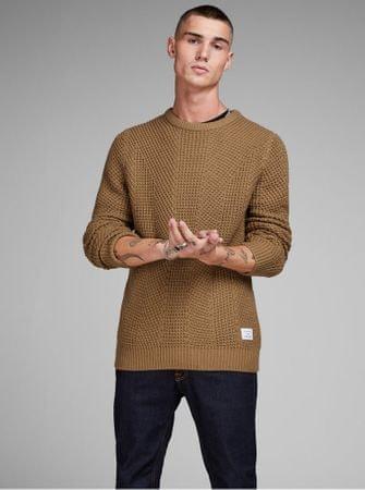 Jack&Jones hnědý pletený svetrStanford L
