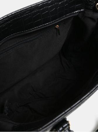 98d2717966 Dorothy Perkins černá kabelka s hadím vzorem