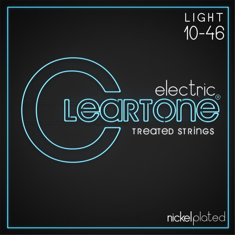 Cleartone Nickel Plated 10-46 Light Struny pro elektrickou kytaru