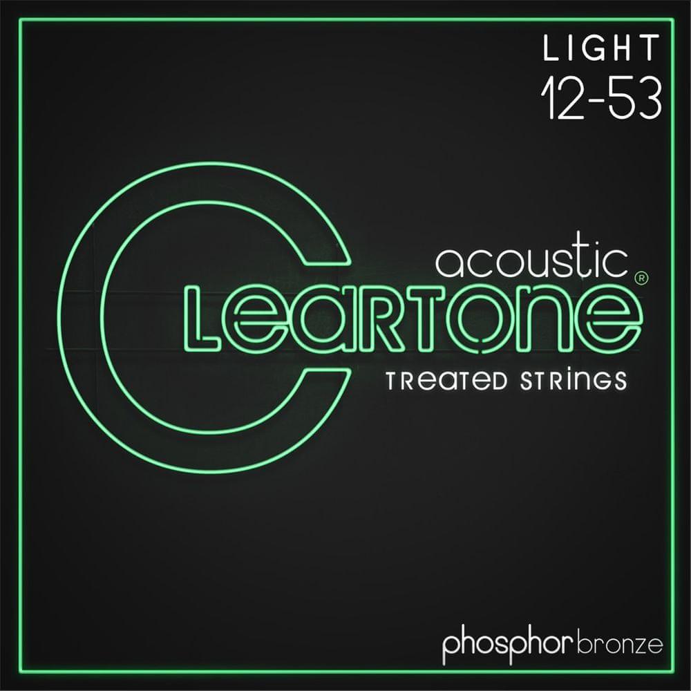 Cleartone Phosphor Bronze 12-53 Light 2-Pack Kovové struny pro akustickou kytaru
