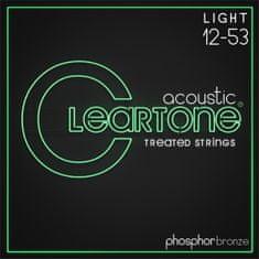 Cleartone Phosphor Bronze 12-53 Light Kovové struny pro akustickou kytaru
