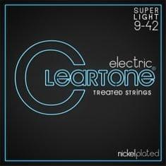 Cleartone Nickel Plated 9-42 Super Light Struny pro elektrickou kytaru
