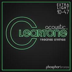 Cleartone Phosphor Bronze 10-47 Extra Light Kovové struny pro akustickou kytaru