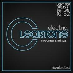 Cleartone Nickel Plated 10-52 Light Top/Heavy Bottom Struny pro elektrickou kytaru