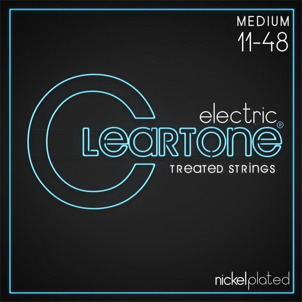 Cleartone Nickel Plated 11-48 Medium Struny pro elektrickou kytaru