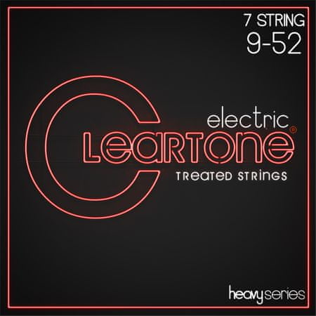 Cleartone Heavy Series 7-String 9-52 Struny pro sedmistrunnou elektrickou kytaru