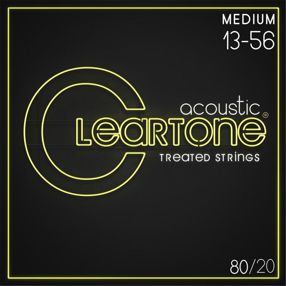 Cleartone 80/20 Bronze 13-56 Medium Kovové struny pro akustickou kytaru