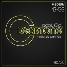 f8fe4e4a44 Cleartone 80 20 Bronze 13-56 Medium Kovové struny na akustickú gitaru