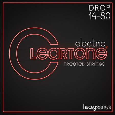 Cleartone Heavy Series 14-80 Drop A Struny na elektrickú gitaru